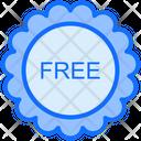Sticker Badge Free Icon
