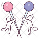 Stickpins Icon