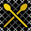 Sticks Drums Instrument Icon