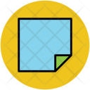 Sticky Note Stationery Icon