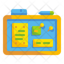 Sticky board Icon