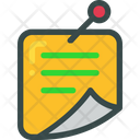 Note List Pin Icon