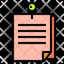 Notes Pin Icon