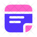 Sticky Note Post It Note Icon