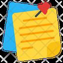 Sticky Note Icon