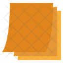 Sticky Note Writing Note Drafting Note Icon