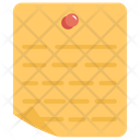 Sticky Note Note Paper Icon
