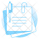 Sticky Notes Note Design Writing Note Icon