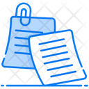 Sticky Notes Memo Reminders Icon