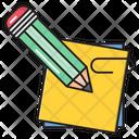 Sticky Notes Write Icon
