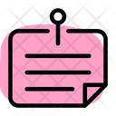 Sticky Notes Notes Reminder Icon