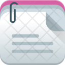 Sticky Notes Brainstorming Icon
