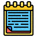 Sticky Notes File Clipboard Icon