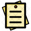 Sticky Notes Post Icon