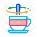 Stirring Spoon Cup Icon