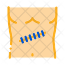 Stitched Surgical Wound Icon