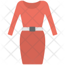 Stitched Dress Western Icon