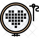 Cross Stitch Needle Icon