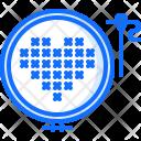 Stitching Cross Stitch Icon