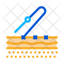 Stitching Surgical Incision Icon