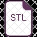 Stl File Document Icon