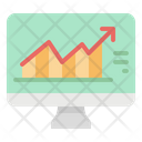 Stock Market Growth Icon