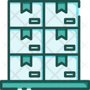 Stock Packages Parcels Icon
