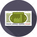 Stock Share Certificate Icon