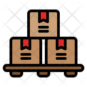 Stock Box Boxes Icon