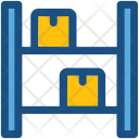 Stock Warehouse Packages Icon