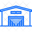 Stock Box Building Icon