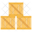 Stock Cardboard Crate Icon