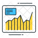 Stock analysis Icon