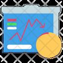 Stock Analysis Market Analysis Market Icon
