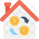 Building Currency Dollar Icon