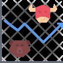 Stock Exchange Graph Icon