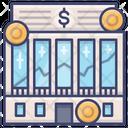 Exchange Market Institution Icon