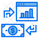 Website Grpah Money Icon