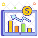 Dollar Market Stock Market Web Graph Icon