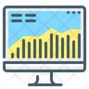 Stock Market Monitor Chart Icon