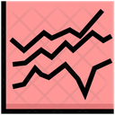 Stock Market Analytics Chart Icon