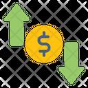 Arrows Investment Money Icon