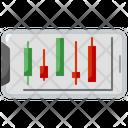 Stock Market App Mobile Application Trading Icon