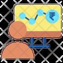 Stock Market Data Icon