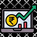 Stock Growthm Icon