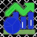 Stock Market Graph Graph Up Icon