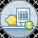 Stock Market News Productivity Business Analytics Icon