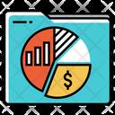 Stock Market Portfolio Icon