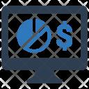 Stock Monitoring Icon