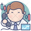 Stock Trader Icon